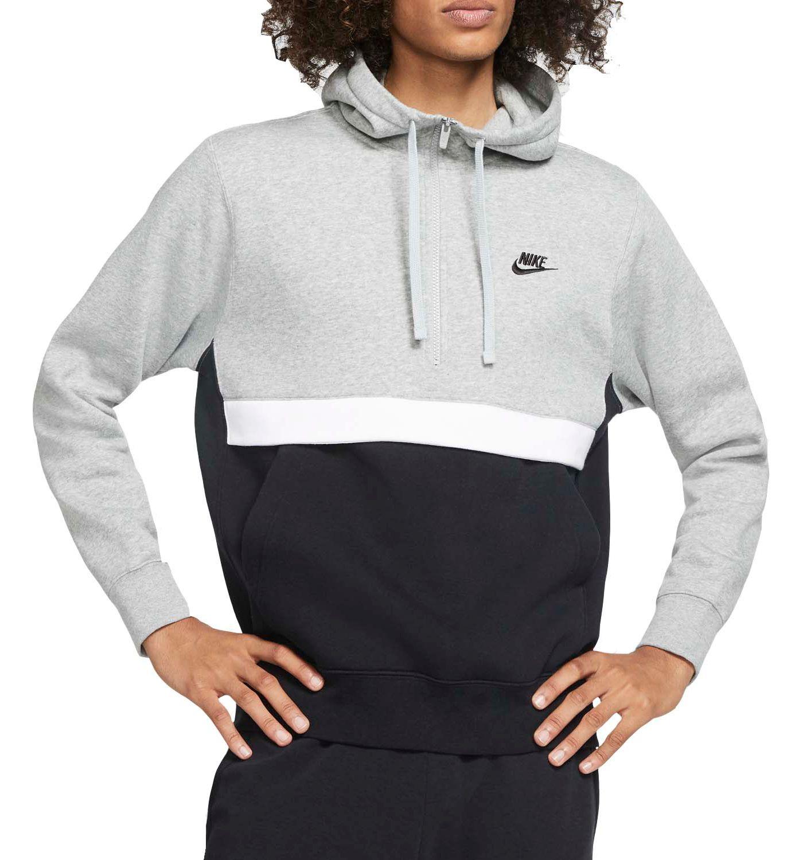 Nike Men's Sportswear Club 1/2 Zip Fleece Hoodie