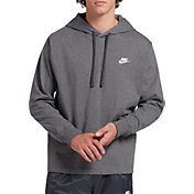 Nike Men's Sportswear Club Jersey Pullover Hoodie (Regular and Big & Tall)