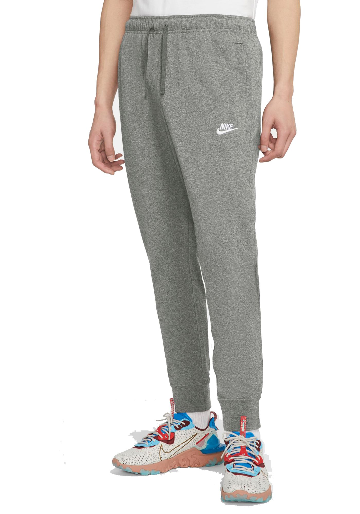 Nike Men's Sportswear Club Jersey Joggers (Regular and Big & Tall)