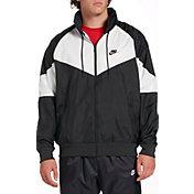 Nike Men's Sportswear Windrunner Jacket in Black/Summit Whte/Blk/Blk