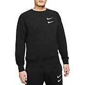 Nike Men's Sportswear Double Swoosh French Terry Crewneck