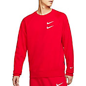 Nike Men's Sportswear Double Swoosh French Terry Crewneck