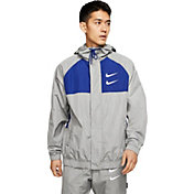 Nike Men's Sportswear Double Swoosh Woven Hooded Jacket