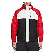 Nike Men's Sportswear Double Swoosh Woven Hooded Jacket