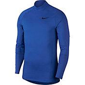 Nike Men's Therma Long Sleeve Shirt (Regular and Big & Tall)