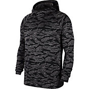 Nike Men's Allover Camo Print Spotlight Basketball Hoodie