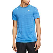Nike Men's TechKnit Short Sleeve Running T-Shirt