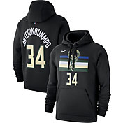 Nike Men's Milwaukee Bucks Giannis Antetokounmpo Pullover Hoodie