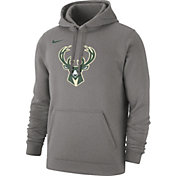 Nike Men's Milwaukee Bucks Statement Pullover Hoodie