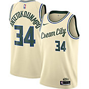 Nike Men's Milwaukee Bucks Giannis Antetokounmpo Dri-FIT City Edition Swingman Jersey