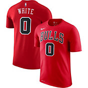 Nike Men's Chicago Bulls Coby White #0 Dri-FIT Red T-Shirt