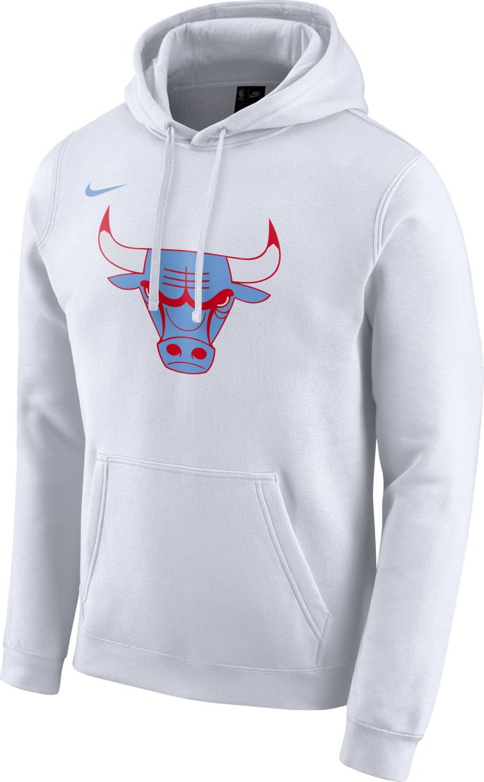 Nike Men's Chicago Bulls Dri FIT City Edition Pullover Hoodie