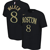 Nike Men's Boston Celtics Kemba Walker #8 Dri-FIT Black City Edition T-Shirt