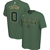 Nike Men's Boston Celtics Jayson Tatum #0 Dri-FIT Green Earned Edition T-Shirt