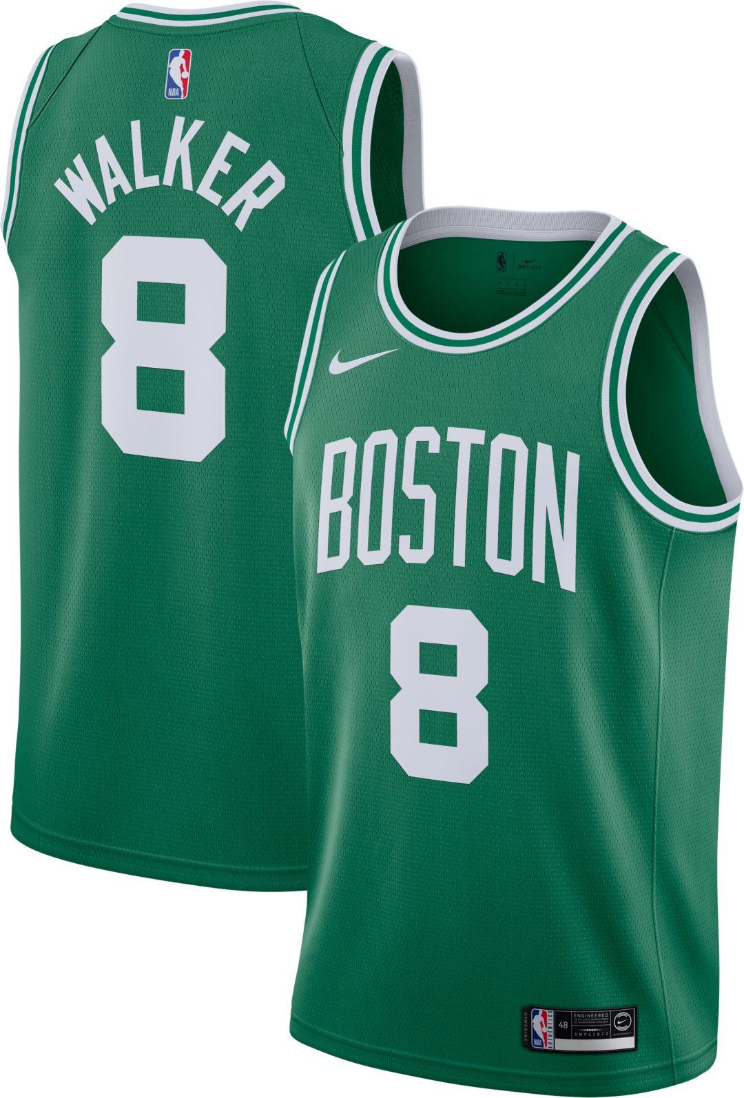 no sale tax lowest discount sale online Nike Men's Boston Celtics Kemba Walker #8 Kelly Green Dri-FIT Swingman  Jersey