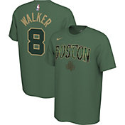 Nike Men's Boston Celtics Kemba Walker #8 Dri-FIT Green Earned Edition T-Shirt