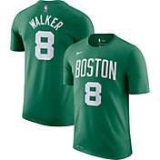 Nike Men's Boston Celtics Kemba Walker #8 Dri-FIT Kelly Green T-Shirt