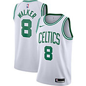 Nike Men's Boston Celtics Kemba Walker #8 White Dri-FIT Swingman Jersey