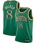 Boston Celtics #7 Jaylen Brown NEWCity Edition Swingman Jersey