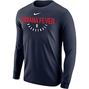 Nike Men's Indiana Fever Dri-FIT Navy Long Sleeve Shirt
