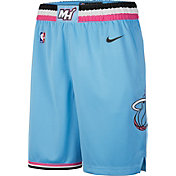 Nike Men's Miami Heat Dri-FIT City Edition Swingman Shorts