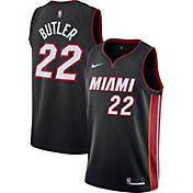 Nike Men's Miami Heat Jimmy Butler #22 Black Dri-FIT Swingman Jersey