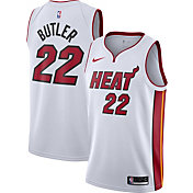 Nike Men's Miami Heat Jimmy Butler #22 White Dri-FIT Swingman Jersey