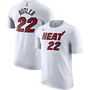 Nike Men's Miami Heat Jimmy Butler #22 Dri-FIT White T-Shirt