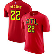 Nike Men's Atlanta Hawks Cam Reddish #22 Dri-FIT Red T-Shirt