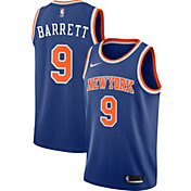Nike Men's New York Knicks RJ Barrett #9 Royal Dri-FIT Swingman Jersey