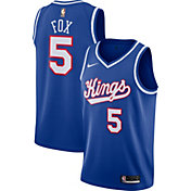 Nike Men's Sacramento Kings De'Aaron Fox #5 Hardwood Classic Dri-FIT Swingman Jersey