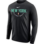 Nike Adult New York Liberty Dri-FIT Black Long Sleeve Shirt