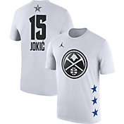 Jordan Men's 2019 NBA All-Star Game Nikola Jokic Dri-FIT White T-Shirt
