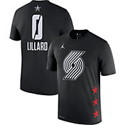 ef22c9d3047 Product Image · Jordan Men s 2019 NBA All-Star Game Damian Lillard Dri-FIT  Black T-