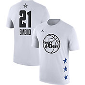 Jordan Men's 2019 NBA All-Star Game Joel Embiid Dri-FIT White T-Shirt