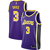 Nike Men's Los Angeles Lakers Anthony Davis #3 Purple Dri-FIT Swingman Jersey