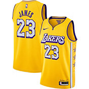 Nike Men's Los Angeles Lakers LeBron James Dri-FIT City Edition Swingman Jersey