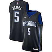 Nike Men's Orlando Magic Mohamed Bamba #5 Black Dri-FIT Swingman Jersey