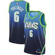 G-III Sports Mens Mavericks #77 Luka Doncic Blue Jersey