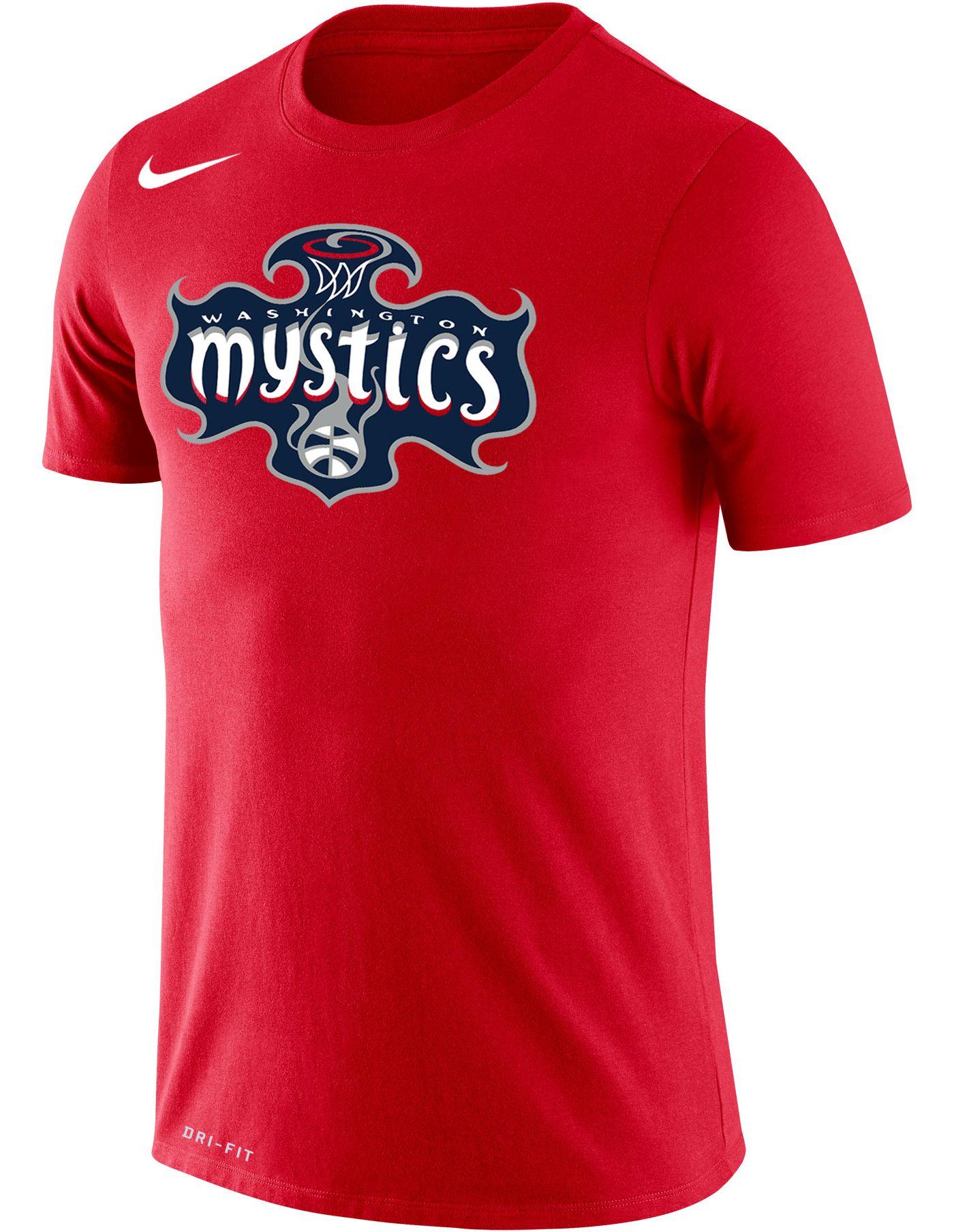 Nike Adult Washington Mystics Dri-FIT Red T-Shirt