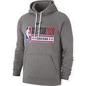 Nike Men's 2020 NBA All-Star Game Grey Logo Hoodie