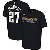 Nike Men's Denver Nuggets Jamal Murray #27 Dri-FIT Black Earned Edition T-Shirt