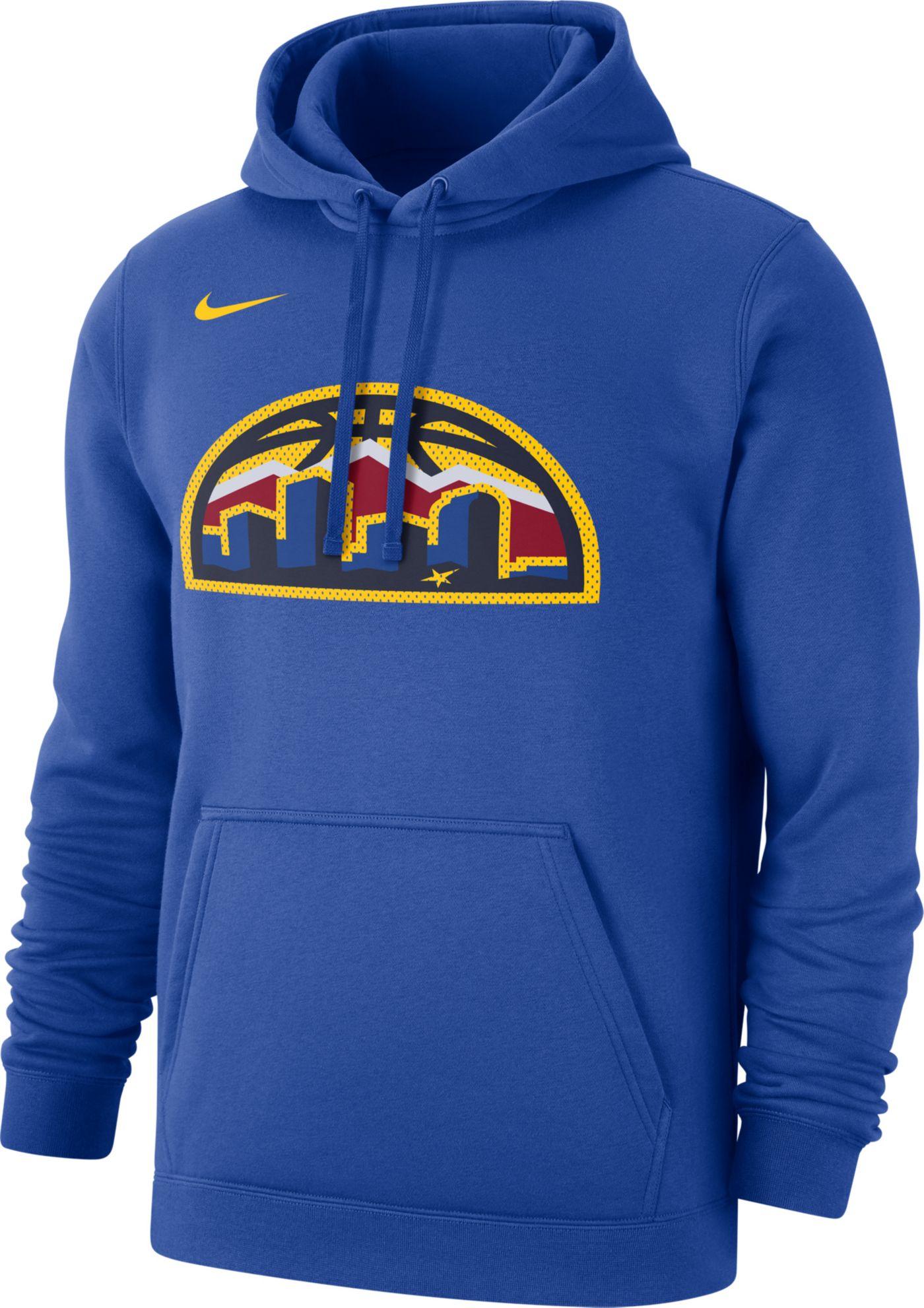 Nike Men's Denver Nuggets Statement Pullover Hoodie