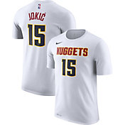 Nike Men's Denver Nuggets Nikola Jokic #15 Dri-FIT White T-Shirt