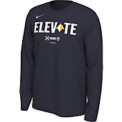 "Nike Men's Denver Nuggets 2019 Playoffs ""Elevate"" Dri-FIT Long Sleeve Shirt"