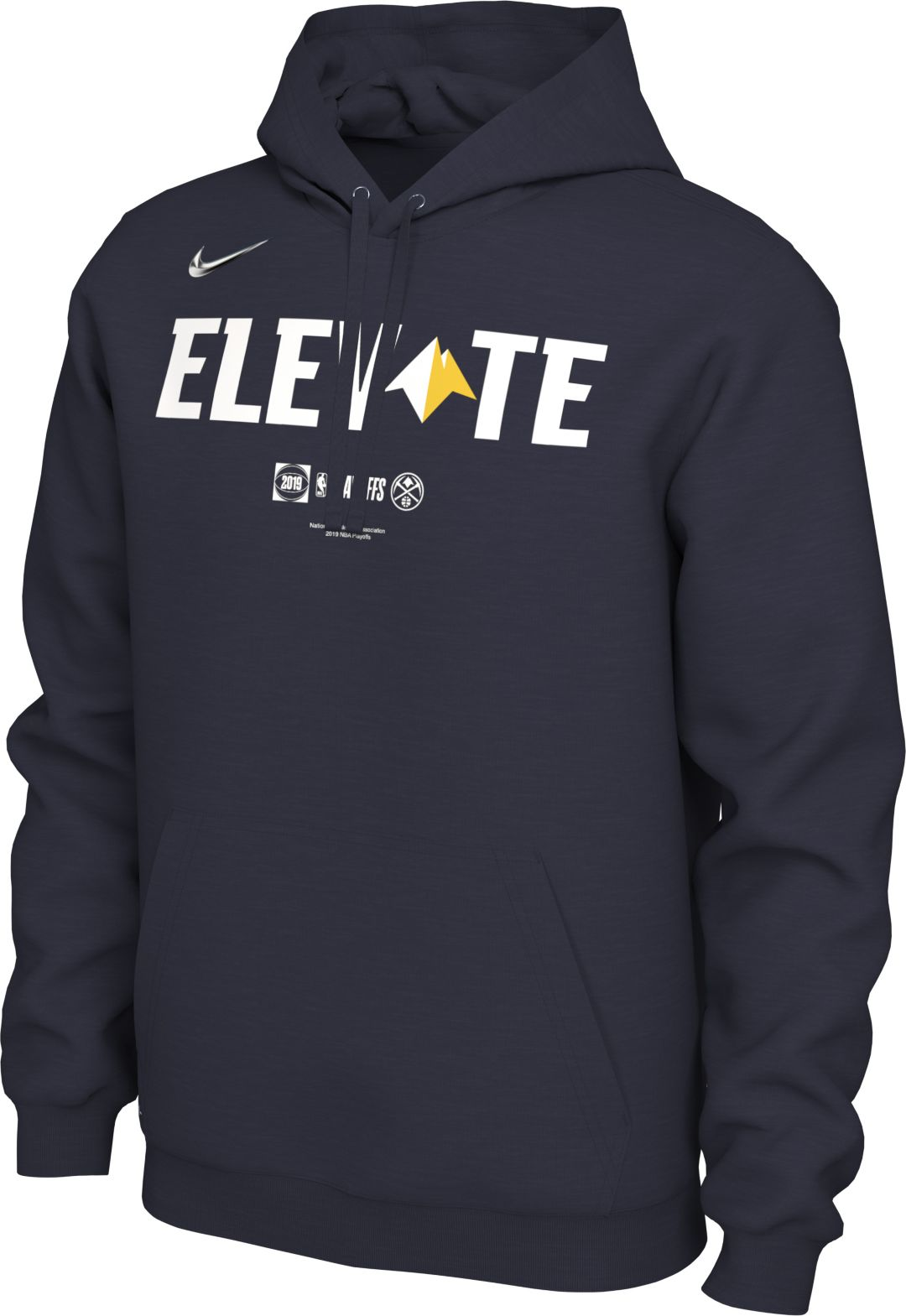 finest selection a64a7 1544d Nike Men's Denver Nuggets 2019 Playoffs