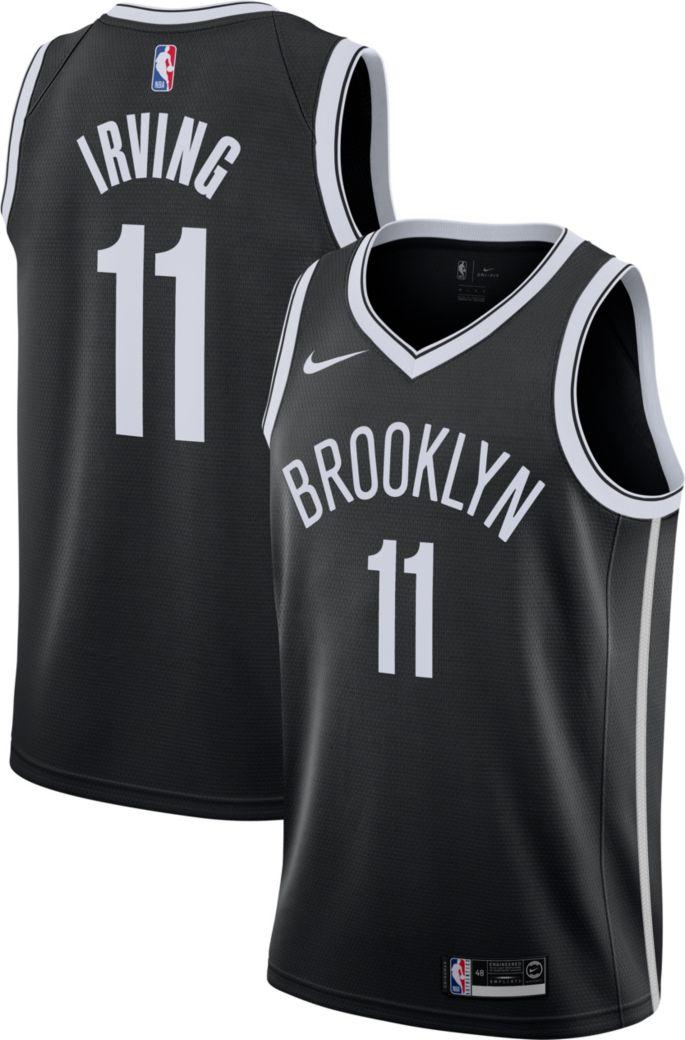 Shop den Nike NBA Brooklyn Nets Irving #11 Swingman Trikot
