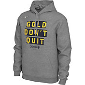 "Nike Men's Indiana Pacers 2019 Playoffs ""Gold Don't Quit"" Pullover Hoodie"