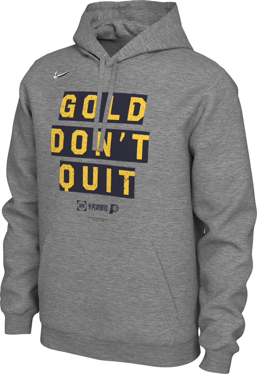 outlet store b0277 2b116 Nike Men's Indiana Pacers 2019 Playoffs