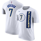 Nike Men's Indiana Pacers Malcolm Brogdon #7 City Edition Dri-FIT White T-Shirt